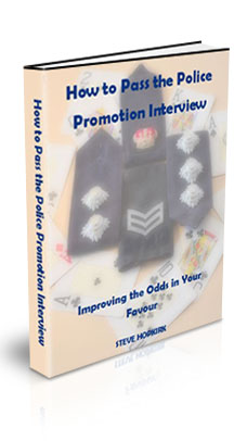 How to pass the Police Promotion Interview electronic book